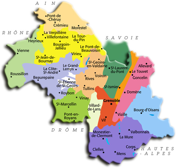 Plan Ville De Vinay